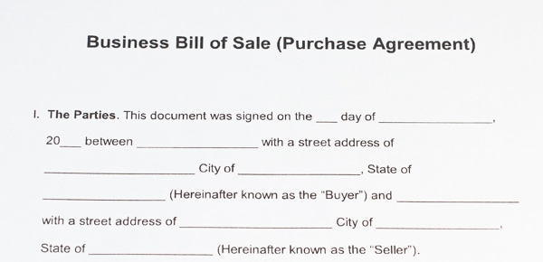 Example of a Business Purchase Agreement used for selling a business in Michigan